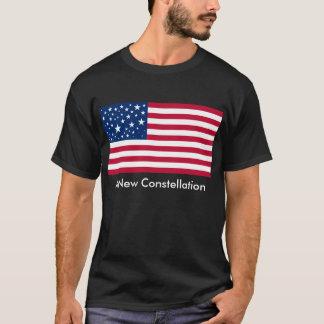 Camiseta Uma constelação nova para a bandeira americana