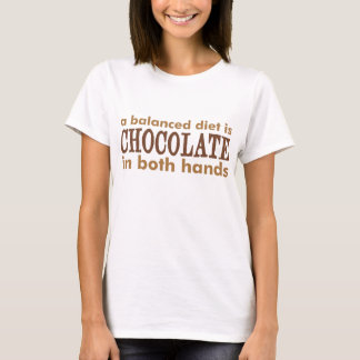 Camiseta Uma dieta equilibrada é…