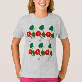 Camiseta UMA flor doce: Adicione seus CUMPRIMENTO/louvor