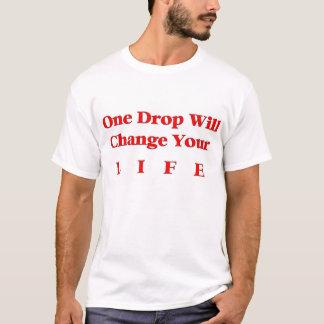 Camiseta Uma gota mudará sua vida