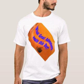 Camiseta Uma grande aventura