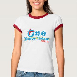 Camiseta Uma ilha feliz