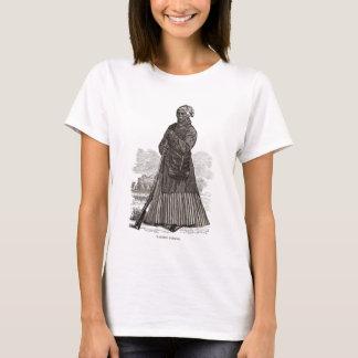 Camiseta Uma imagem do woodcut de Harriet Tubman, antes de