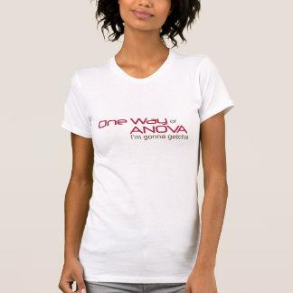 Camiseta Uma maneira ANOVA