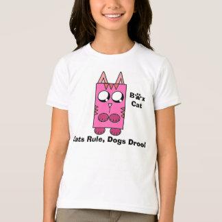 Camiseta Uma marca do gato da caixa - os gatos ordenam,