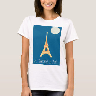 Camiseta Uma noite em Paris