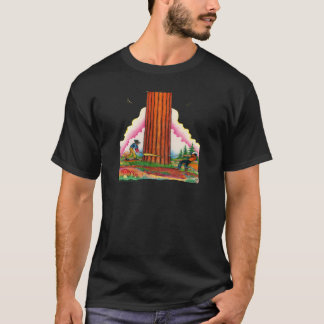 Camiseta Uma página poderosa 8 da árvore