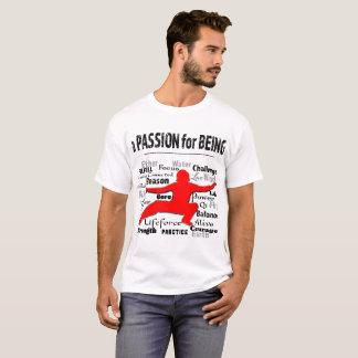 Camiseta Uma paixão para o t-shirt dos homens