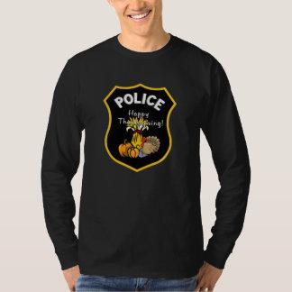Camiseta Uma polícia da acção de graças