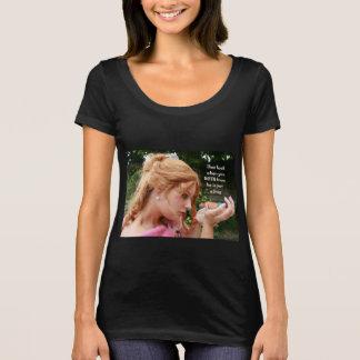Camiseta Uma princesa beija muitos sapos (antes - em
