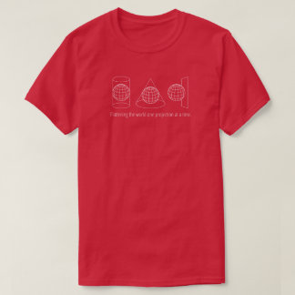 Camiseta Uma projeção (escura)