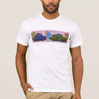 Camiseta uma senhora entre dois majores t-shirt
