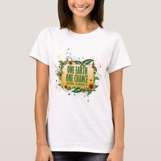 Camiseta Uma terra uma possibilidade