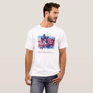 Camiseta Uma urdidura com o espaço e o tempo