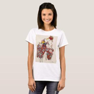 Camiseta Uma vestidura do dançarino do inverno