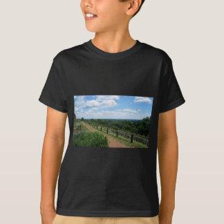 Camiseta Uma vista de Monticello