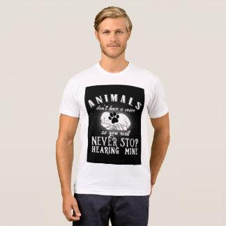 Camiseta Uma voz para animais