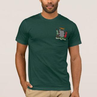 """Camiseta """"Uma Zâmbia Hoodie da brasão da Zâmbia de uma"""