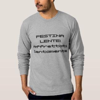 Camiseta Umas citações latin