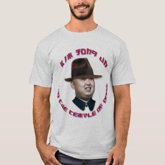 Camiseta Un de Kim Jong e o templo da desgraça
