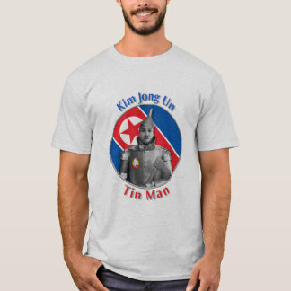 Camiseta Un de Kim Jong - homem da lata