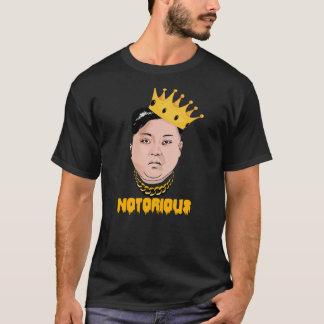 Camiseta UN NOTÓRIO DE JONG DE KIM -- Ouro -
