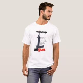 Camiseta UNGUN.org: Ascendente sábio. Cave a arma. (versão