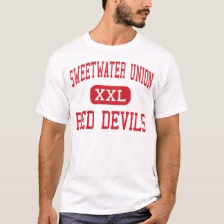 Camiseta União de Sweetwater - diabos vermelhos - cidade