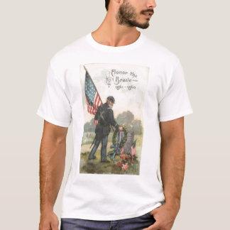 Camiseta união do cemitério da guerra civil