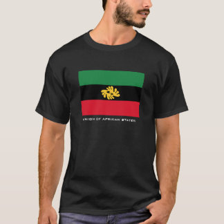 Camiseta União do t-shirt dos estados africanos