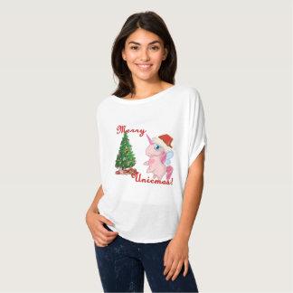 Camiseta Unicmas alegre (Feliz Natal através da maneira do