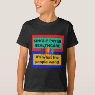 Camiseta Único pagador Cuidados médicos-é o que as pessoas