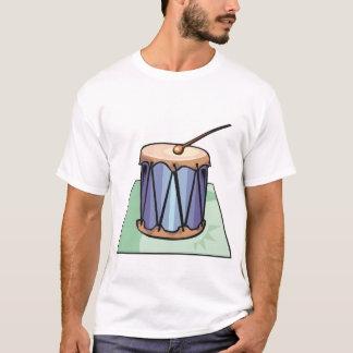Camiseta Único t-shirt dos homens do cilindro