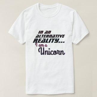 Camiseta Unicórnio alternativo da realidade