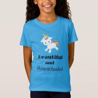 Camiseta Unicórnio bonito e Homeschooled