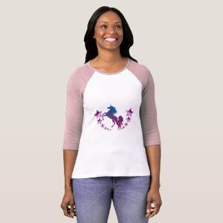 Camiseta Unicórnio com estrelas