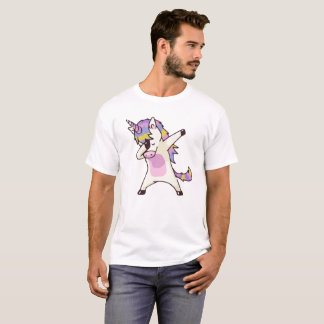 Camiseta Unicórnio de toque ligeiro
