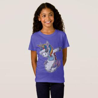 Camiseta Unicórnio de toque ligeiro da sereia