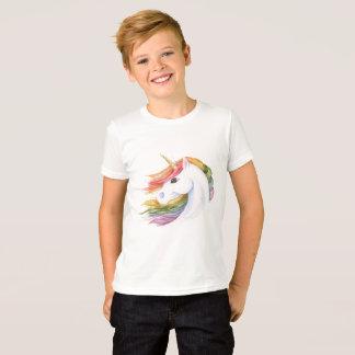 Camiseta Unicórnio do arco-íris