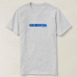Camiseta unicórnio do macaco do cão dos emojis