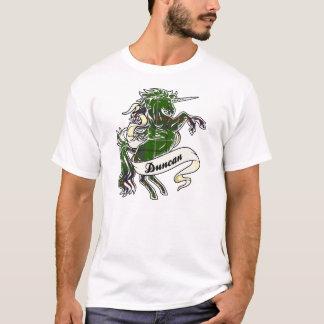 Camiseta Unicórnio do Tartan de Duncan