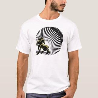 Camiseta Unicórnio dourado