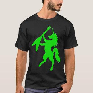 Camiseta Unicórnio que joga a guitarra