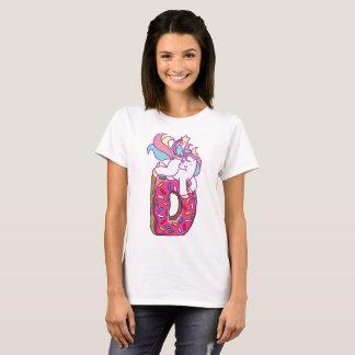 Camiseta Unicórnio & rosquinha