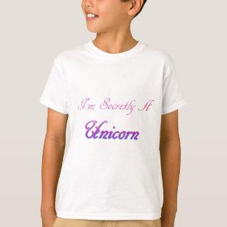Camiseta Unicórnio secreto
