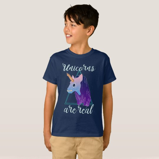 Camiseta Unicorns are real