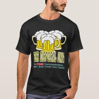 Camiseta Unidade de eliminação da cerveja