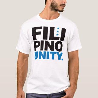 Camiseta Unidade filipina - azul e preto