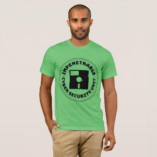 Camiseta Unidade impenetrável oficial da segurança do Cyber