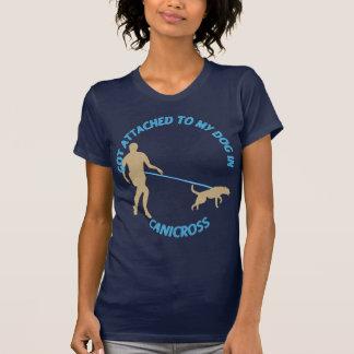 Camiseta Unido a meu cão em Canicross